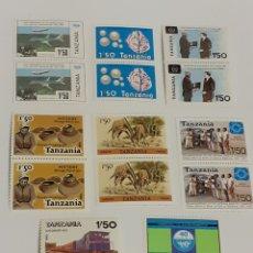 Sellos: 8 BLOQUES DE SELLOS DE TANZANIA,NUEVOS. Lote 210527373