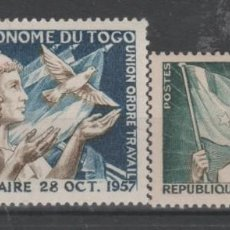 Timbres: TOGO,1957.. Lote 213828838