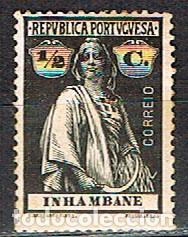INHAMBANE MOZAMBIQUE Nº 72 (AÑO 1914), CERES, NUEVO CON SEÑAL DE CHARNELA (Sellos - Extranjero - África - Otros paises)
