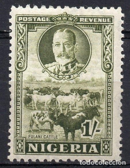 NIGERIA/1936/MNH/SC#45/ GANADO FULANI/ KGVI / (Sellos - Extranjero - África - Otros paises)