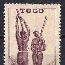 Francobolli: TOGO 1941 - ESCENAS DE LA VIDA TOGOLESA - MNH**. Lote 215877708