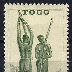 Francobolli: TOGO 1941 - ESCENAS DE LA VIDA TOGOLESA - MNH**. Lote 215877823