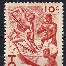 Francobolli: TOGO 1947- ESCENAS DE LA VIDA TOGOLESA - MNH**. Lote 215877870