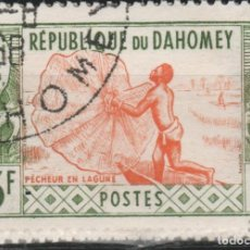 Sellos: LOTE (23) SELLO DAHOMEY AFRICA. Lote 253884225