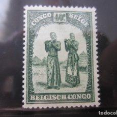 Sellos: CONGO BELGA 1 V. NUEVO. Lote 219587642