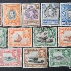 Sellos: SELLO POSTAL DE KENIA UGANDA Y TANGANIKA 1938 EMISIONES DE 1935 REY JORGE VI. Lote 220185030