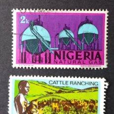 Sellos: 1973 NIGERIA SERIE DE USO CORRIENTE. Lote 221412847