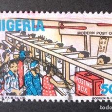 Sellos: 1986 NIGERIA ESCENAS DE LA VIDA NIGERIANA. Lote 221413710