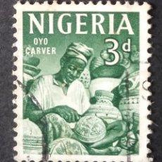 Sellos: 1961 NIGERIA ICONOS NACIONALES. Lote 221413831