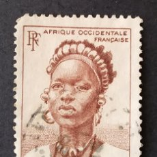 Sellos: 1948 ÁFRICA OCCIDENTAL FRANCESA ESTAMPAS. Lote 221620897
