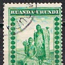 Sellos: RUANDA URUNDI Nº 47 (AÑO 1931), ESCENA LOCAL, USADO. Lote 221689953