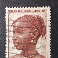 Sellos: 1947 ÁFRICA OCCIDENTAL FRANCESA ESTAMPAS. Lote 221835656