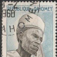 Sellos: LOTE (23) SELLO DAHOMEY AFRICA. Lote 221925463