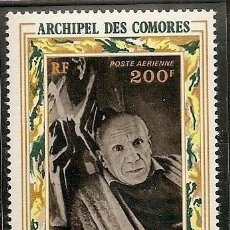 Sellos: ARCHIPIELAGO DE LAS COMORES 1973 - PICASSO - YVERT Nº 57** AEREO. Lote 221958892