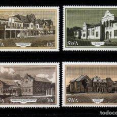 Sellos: SUDOESTE AFRICANO 528/31** - AÑO 1985 - EDIFICIOS HISTORICOS DE WINDHOEK. Lote 222362740