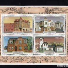 Sellos: SUDOESTE AFRICANO HB 6** - AÑO 1981 - EDIFICIOS HISTORICOS DE LUDERITH. Lote 222364395