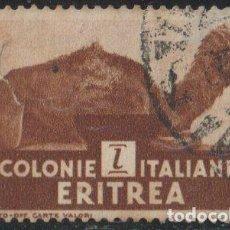Sellos: ERITREA 1933 SCOTT 160 SELLO º FAUNA DROMEDARIO DROMEDARY (CAMELUS DROMEDARIUS) COLONIA ITALIANA. Lote 222465386
