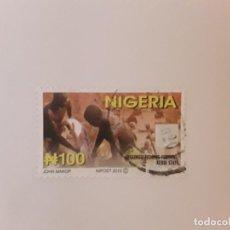 Sellos: NIGERIA SELLO USADO. Lote 222541178