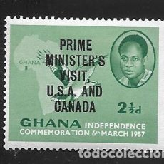 Timbres: GHANA. Lote 224660380