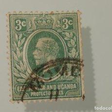 Sellos: SELLO DE PROTECTORADO AFRICA DEL ESTE Y UGANDA USADO- YVERT 157- 3 CTS- JORGE V 1922. Lote 225054235