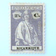 Sellos: SELLO POSTAL MOZAMBIQUE 1921 , 2 1/2 C, CERES, SIN USAR. Lote 233860745