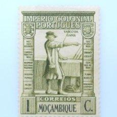 Sellos: SELLO POSTAL MOZAMBIQUE 1938 , 1 C, VASCO DA GAMA, SIN USAR. Lote 233861570
