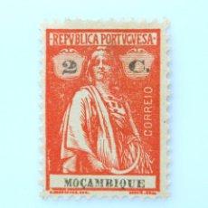 Sellos: SELLO POSTAL MOZAMBIQUE 1921 , 2 C, CERES, SIN USAR. Lote 233865105