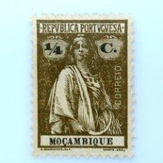 Sellos: SELLO POSTAL MOZAMBIQUE 1922 , 1/4 C, CERES, SIN USAR. Lote 233866455