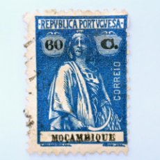 Sellos: SELLO POSTAL MOZAMBIQUE 1922 , 1/4 C, CERES, USADO. Lote 233868215