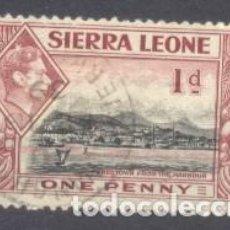 Sellos: SIERRA LEONA,. Lote 236509390