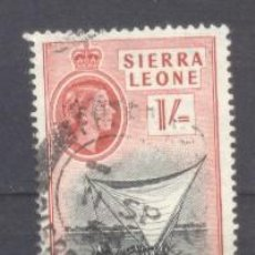 Sellos: SIERRA LEONA, BARCO BULLOM. Lote 236525905