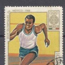 Sellos: BURUNDI 1968, JJOO DE MEXICO, PREOBLITERADO. Lote 238119845