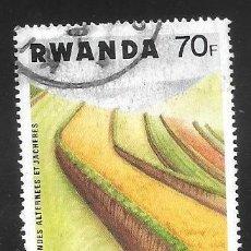 Timbres: RWANDA. Lote 241419825
