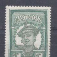 Sellos: MARTINICA (COLONIA FRANCESA) 1922.25 YVERT 95- NUEVO. Lote 243070020