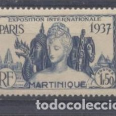 Sellos: MARTINICA (COLONIA FRANCESA) 1937 YVERT 166- NUEVO. Lote 243074290