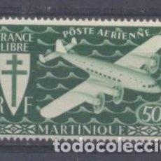 Sellos: MARTINICA (COLONIA FRANCESA) 1945 YVERT 4- NUEVO. Lote 243074655