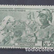 Sellos: MARTINICA (COLONIA FRANCESA) 1942 YVERT 1 - NUEVO. Lote 243077600
