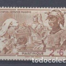 Sellos: MARTINICA (COLONIA FRANCESA) 1942 YVERT 2 - NUEVO. Lote 243077695