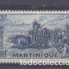 Sellos: MARTINICA (COLONIA FRANCESA) 1947 YVERT 234- NUEVO. Lote 243078115