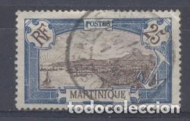 MARTINICA (COLONIA FRANCESA) 1909-18 YVERT 68 - USADO (Sellos - Extranjero - África - Otros paises)