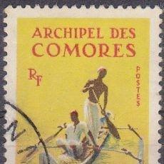 Sellos: SELLO NUEVO ISLAS COMORES 1964, YT 33. Lote 244195030