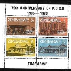 Sellos: ZIMBABWE. Lote 244762805