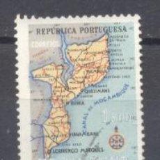 Sellos: MOZAMBIQUE, COLONIA PORTUGUESA, 1954, USADO. Lote 245112045