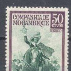 Sellos: MOZAMBIQUE, COLONIA PORTUGUESA, 1970, COMPAÑÍA DE MOZAMBIQUE, NUEVO, SIN GOMA. Lote 245263830