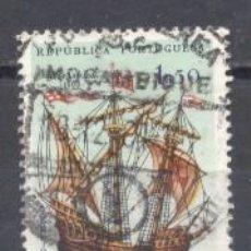 Sellos: MOZAMBIQUE, COLONIA PORTUGUESA, 1963 BARCOS, USADO. Lote 245269510