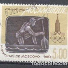 Sellos: MOZAMBIQUE, COLONIA PORTUGUESA, 1979, OLIMPIADAS DE MOSCÚ 1980,USADO. Lote 245273275