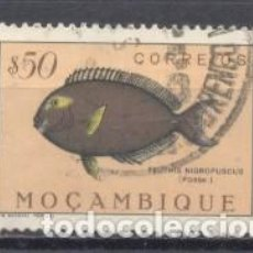 Sellos: MOZAMBIQUE, COLONIA PORTUGUESA, 1951, PECES, USADO. Lote 245275085