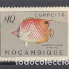Sellos: MOZAMBIQUE, COLONIA PORTUGUESA, 1951, PECES, USADO. Lote 245275140