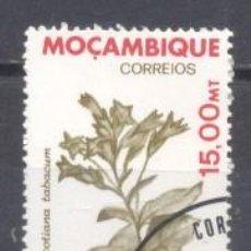 Sellos: MOZAMBIQUE, COLONIA PORTUGUESA, 1992, FLORA, PREOBLITERADO. Lote 245276830