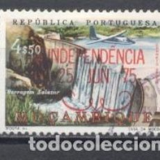 Sellos: MOZAMBIQUE, COLONIA PORTUGUESA, 1975, INDEPENDENCIA, USADO. Lote 245278225